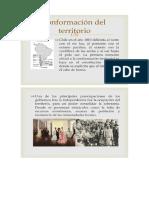 Conformacion Del Territorio Chileno Siglo Xix