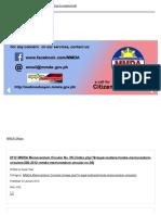 Metro Manila_20120430_Memorandum Circular on Alternate Routes for Trucks Affected by Truck Ban