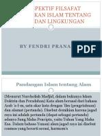 Perspektif Filsafat Pendidikan Islam Tentang Alam Dan Lingkungan