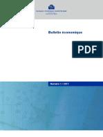 Bulletin Economique Bce n1 2017