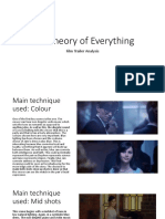 the theory of everything analysis