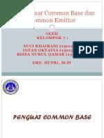 Ppt  Common Base Dan Common Emitor