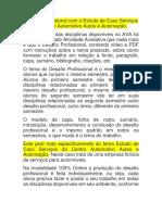 Desafio Profissional com o Estudo deCaso Serviços do Centro Automotivo Autos e Automação.docx