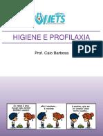 Slide Higienização e Profilaxia