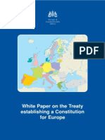 White Paper Treaty Establishing a Constitution for Europe