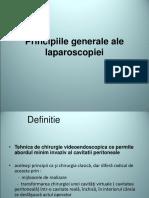 Prezentare laparoscopie