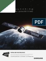 Nvme Ssd 960 Pro Evo Brochure
