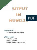Hum report output.docx