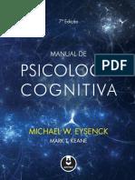 Manual de Psicologia Cognitiva - Michael W. Eysenck