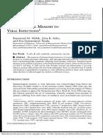 Memoria Inmunologica a Infecciones Virales