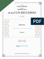 Roberto Calvo, Kehoe - Solo un Recuerdo.pdf