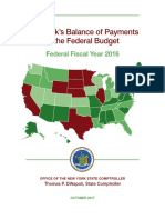 DiNapoli Federal Budget Report