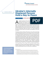 Ukraine's Internally Displaced Persons Hold a Key to Peace