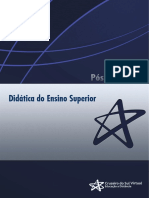 Unidade I - O Contexto Do Ensino Superior Educação Sociedade e Profissão Docente
