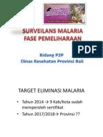 Materi Surveilans Malaria