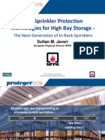 High Bay Storage Sprinklers