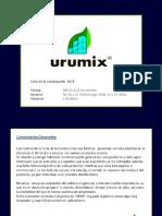 Informe Urumix Feria de La Contruccion