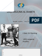 Dall'Insulina Al Diabete