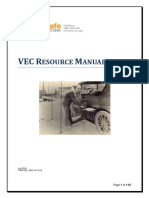 VEC Resource Manual July2014 1