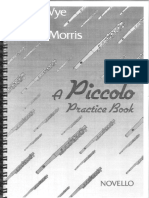 Wye, T. & Morris, P. - A Piccolo Practise Book