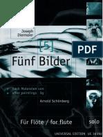 Diermaier, J. - 5 Bilder Para Flauta Sola