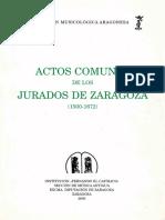 Actos Comunes Jurados Zaragoza 2