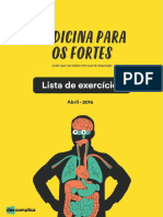 eBook Lista de Exercicios Medicina Abril 2016