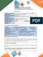 Guía de Actividades y Rubrica de Evaluación Tarea 2 - Fundamentos de Economía