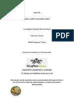 Actores de La Cadena de Abastecimiento, Su Entorno Nacional e Internacional