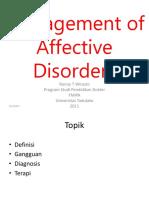 21 Management of Affective Disorder_blok 18_UNTAD_2011