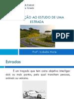 Aula 1_Introdução Ao Estudo Da Estrada(UFCG_EC)