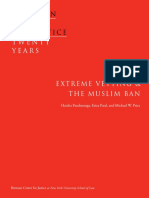 Extreme Vetting and the Muslim Ban