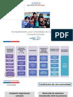Acompañamiento a Comunidades de Curso HpV II 2017