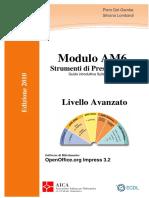 Dispensa AM6 2010 OpenOffice ITALIAN