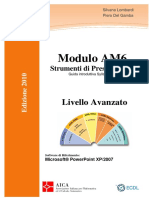 Dispensa AM6 2010 Microsoft ITALIAN