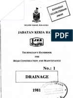 Handbook No 1 - Drainage