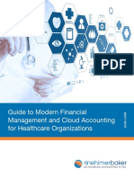 A Guide to Modernizing Financial Management at Healthcare Organizations