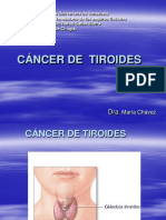 Cancer de Tiroides