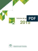 Informe de Gestión Andalucía Emprende 2015 Web