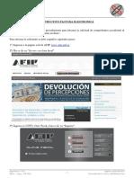 Instructivo Factura Electronica 2016
