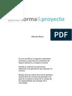 SRG forma y proyecto Teorica Inicial Mg 2017 2 Cuatri