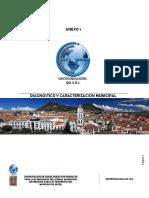 Informe Caracterizacion Ciudad de Sucre Bolivia