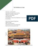 The Forbidden City China