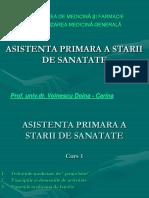 curs 1 Asistenta Primara