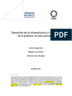 Desarrollo de La Infraestructura y Reducción de La Pobreza