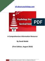 Psychology Student Survival Guide