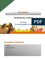 Nutrición de Las Abejas.