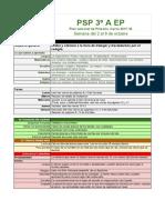 PSP  3ºA  2-6 oct