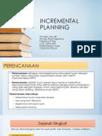 Teori Incremental Planning Edit