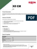 Exxon Polyrex EM